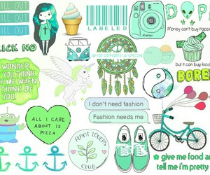 background, overlays, and green image