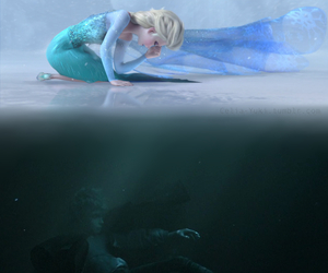 disney, jack frost, and frozen image
