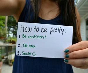 pretty, smile, and confident image