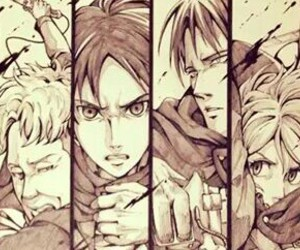 attack on titan and special operations squad image