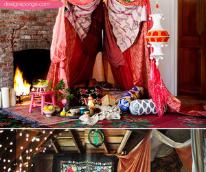 bohemian, gypsy, and hippie decor image
