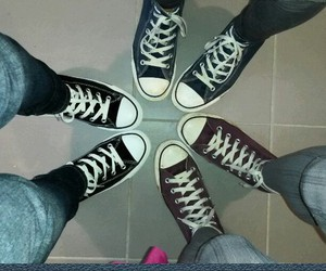 allstar, chucks, and converse image