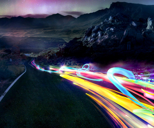 colorful, light, and photography image