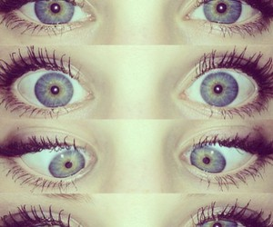eyes, blue, and crazy image