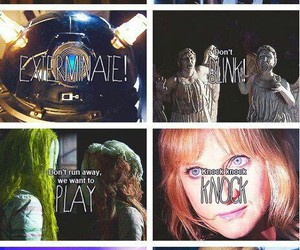 Dalek and doctor who image