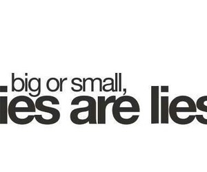lies and quote image