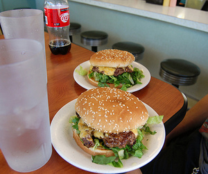 burger, food, and photography image