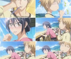 anime, funny, and kaichou wa maid-sama image