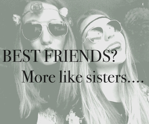 best friends, black&white, and girlfriend image