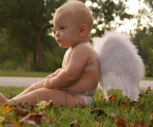 adorable, angel, and baby image
