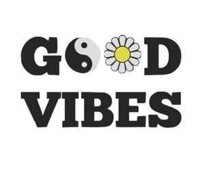good vibes, flowers, and vibes image