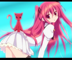 anime, cat, and Claire image