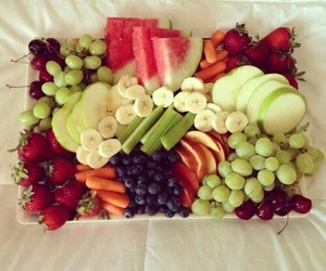 colors, fruit, and fin image