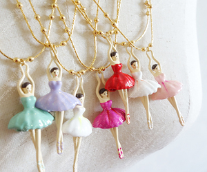 ballerina, fashion, and necklace image