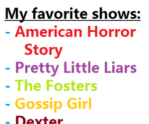 awkward, Dexter, and gossip girl image