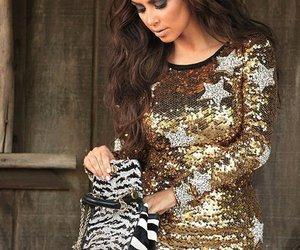 kim kardashian, bazaar, and hair image