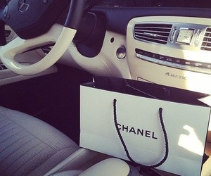 chanel, car, and mercedes image