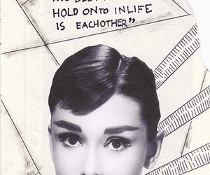 audrey, Collage, and quotation image