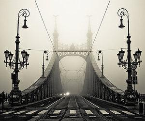 bridge, photography, and budapest image