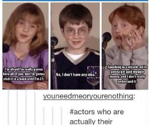lol, ron, and harry image