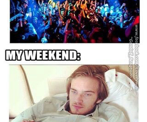 pewdiepie, weekend, and pewds image