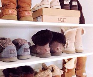 boots, uggs, and luxury image