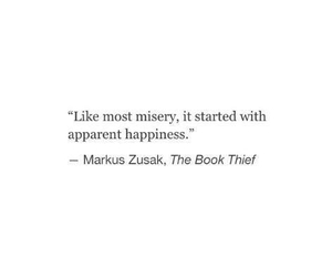 markus zusak, quote, and books image