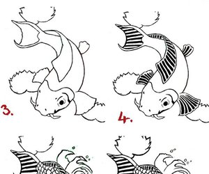fish and how to draw image