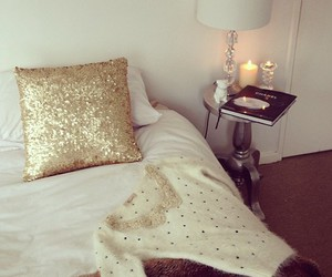 bedroom, room, and girly image