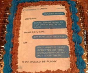 cake, funny, and Best image