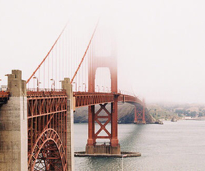 beauty, golden gate, and water image