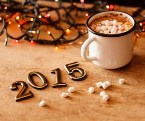2015, chocolate, and happy new year image