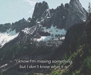grunge, mountains, and quote image
