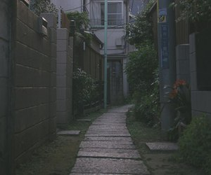 home, japan, and street image