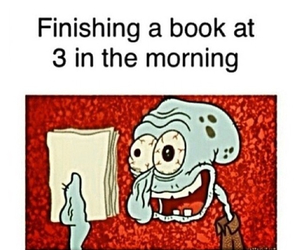 finishing a book, books, and morning image
