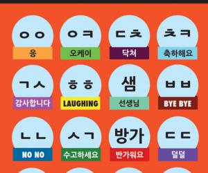 emoticons, language, and korea image