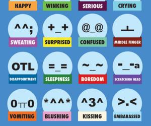 emoticons, korea, and korean image