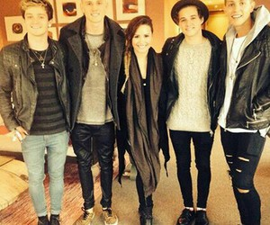 the vamps, demi lovato, and connor ball image