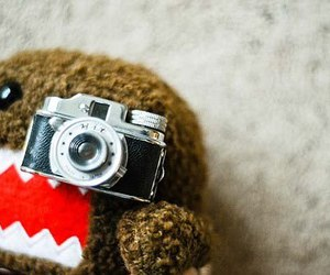 cute, camera, and domo image