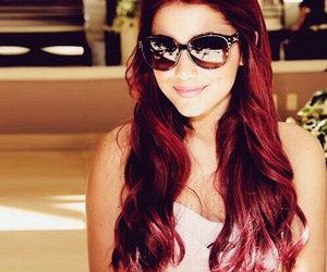 ariana grande, red hair, and beautiful image