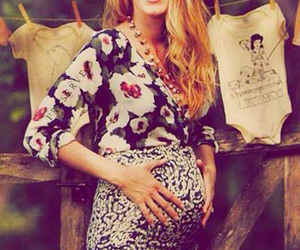 blake lively, pregnant, and gossip girl image