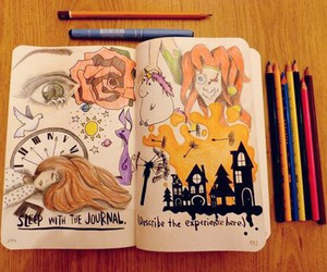 drawing, dreams, and wreck this journal image
