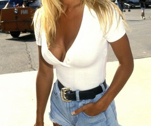 Pamela Anderson, blonde, and sexy image