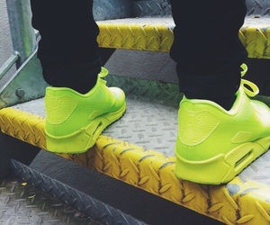 nike, swag, and green image