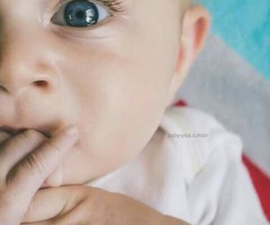 baby, blue, and love image
