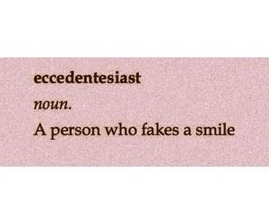 fake, smile, and grunge image