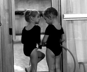 baby, balerina, and cool image