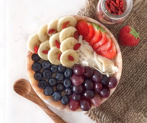 breakfast, raw, and healthy image