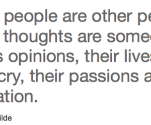 quote, oscar wilde, and people image