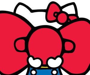 cute and hello kitty image